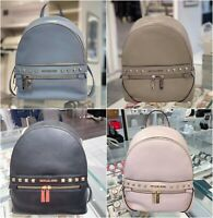 NWT Michael Kors Kenly Stud Medium Backpack Leather MultiColor