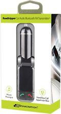 Bracketron Roadtripper Wireless Bluetooth Car FM Transmitter/USB Charger - Black