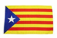 3x5 Catalonian (Star) Flag Catalonia Catalan Barcelona Spain Spanish La Senyera