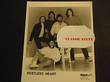 RESTLESS HEART-8 x 10 PUBLICITY PHOTO-READY FOR MOUNTING-