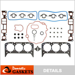 Fits 96-06 Chevrolet GMC V6 4.3L Vortec OHV New Head Gasket Kit Set