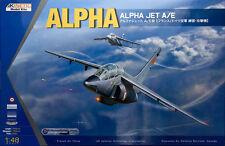 Kinetic Models 1/48 Scale Alpha Jet A/E Plastic Model Kit K48043