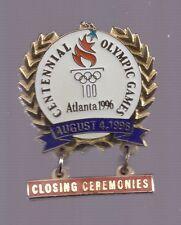 1996 Atlanta Closing Ceremonies Olympic Pin Dangle
