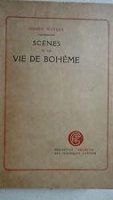 MURGER H. Scenes De La Vie De Bohème   ex sur Lafuma