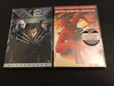 X2 - X-men United (widescreen Edition) Spiderman 2 DVDs Brand New Sealed!! L@@K!