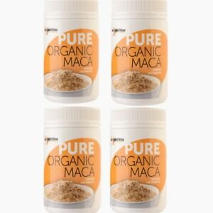 4 x Maca Pure Organic 120 tablets 1000mg
