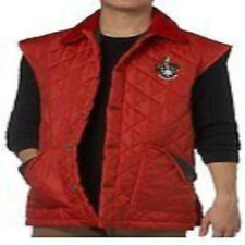 RED + NAVY JACK ORTON MENS DIAMOND QUILTED GILET BODYWARMER LARGE BRAND NEW