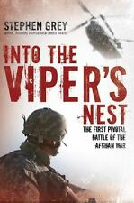 Into the Viper's Nest: The First Pivotal Battle of the Afghan War-ExLibrary