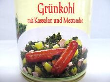 Grünkohl mit Kasseler und Mettenden 800g Dose