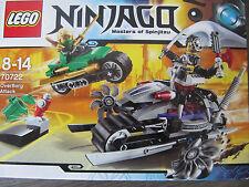 Lego Ninjago aus Sammlung 70722 OverBorg Attack komplett+Figuren+BA + OVP