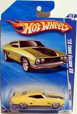 '73 FORD FALCON XB GT 351 YELLOW #125/240 DIECAST 1/64 SCALE HOT WHEELS NEW