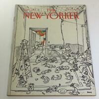The New Yorker: January 5 1981 Full Magazine/Theme Cover George Booth