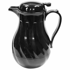 More details for zodiac black insulated 1.9l 64oz hot beverage coffee drinks server catering jug