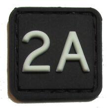 2A 2ND AMENDMENT 3D PVC GLOW RANGER EYE PATCH BEAR ARMS NRA VELCRO® BRAND
