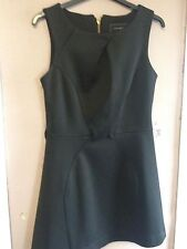 River Island Black Fit And Flare Dress Size 8