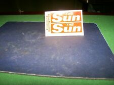 ALAN SMITH ASAM MODELS 1/50th SCALE TRANSFER DECALS THE SUN/NEWS OF THE WORLD.