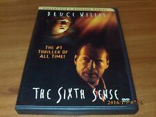 The Sixth Sense (Dvd, 2000, Widescreen Collectors Series) 6th Bruce Willis