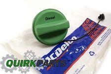 2014-2015 Chevrolet Cruze Diesel Fuel Tank Filler Gas Cap Green OEM NEW