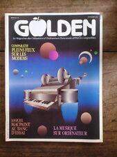 GOLDEN N° 8 le magazine des utilisateurs d'ordinateurs personnels APPLE