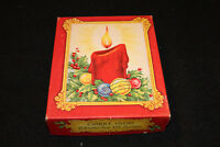 VTG Christmas Cards Candle Glow Gift Enclosures with Envelopes Box Assortment