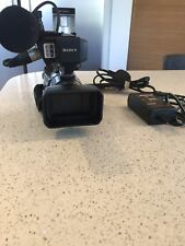 Sony HVR-A1E Camcorder in excellent condition with very low hours