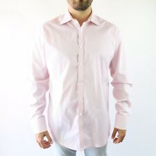 Ted Baker London Dainty Tailored Fit Dress Shirt in Striped Pink Size 17 - 34/35