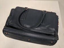 New Navy Blue Jill-E Purse Camera Bag with Laptop Pocket; iPad & Phone Holders
