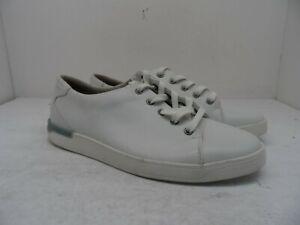 Clarks Men's Lace Up Casual Shoe 14885 White Size 8.5M