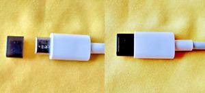6x USB Typ C Abdeckung Staubschutz Silikon Schwarz für LG Wing
