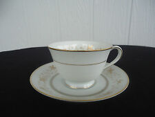 noritake warwick 6121 tea cup and saucer duo set white and gold 6 available