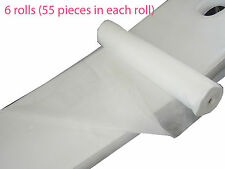 Disposable Bed Massage Table Cover Roll 6 Rolls (80CM X 180CM PERFORATED)  55PCS