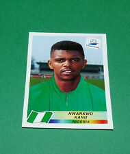 N°258 NWANKWO KANU NIGERIA PANINI FOOTBALL FRANCE 98 1998 COUPE MONDE WM