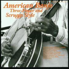 American Banjo - American Banjo-Three Finger & (CD NEUF)
