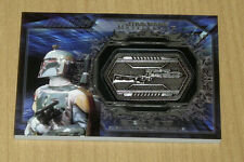 2015 Topps Star Wars Masterwork silver Medallion BOBA FETT 23/50