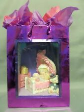 Dollhouse Miniature Baby Girls Room Scenario (Roombox)  in a Gift Bag
