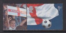 Oferta Especial. gran Bretaña 2002 World Cup 1st + Etiqueta ex LS8 Estampillada sin montar.