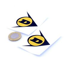 Dunlop Arrow Stickers Classic Car Motorbike Rally F1 Racing Vinyl Decals 50mm x2