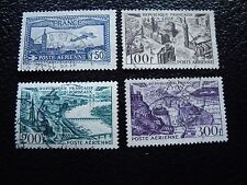 FRANCE - timbre yvert et tellier aerien n° 6 24 a 26 obl (L1) stamp french