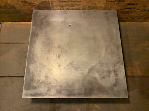 """Small Engineers Toolmakers Cast iron surface plate / marking out table 12"""" x12"""""""