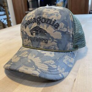 Patagonia Fly Fishing Master Chief Hat - New Without Tags - Camo - 2012 1st Year