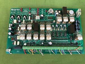 Scheda elettronica di controllo motore ELCOS - per recupero parti-