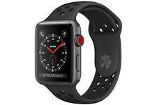 Apple Watch Series 3 space grau 42mm Smartwatch Cellular A1891, Zubehör neu