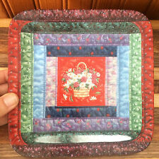 "Cherished Traditions ""The Log Cabin"" Quilt Plate #3 of 8 Mary Ann Lasher"