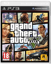 PS3 - Grand Theft Auto V (GTA 5) **New & Sealed** Official UK Stock