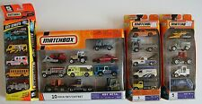 #Mb092  3 five packs and 1 ten pack - 25 Matchbox light trucks & other vehicles