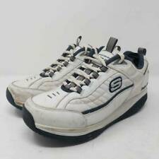 Skechers Mens Shape Up Walking Shoes White Black Lace Low Top 52000 Sneakers 11