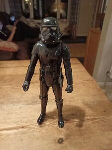 Hasbro ~Electronic ~Star Wars Figure ~Shadow Trooper ~Talking ~VGC