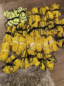 32 Purse Nets spun poly for Ferreting Ferret Vermin Rabbiting Not Hemp Or Nylon