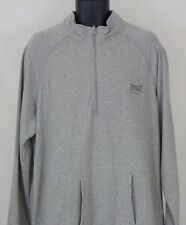 Mens Everlast Sport XLarge Gray Long Sleeve Pullover Sweater XL  NWT