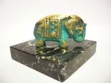 """Oriental Elephant"" RARE Bronze Sculpture  by MEDHAT SHAFIK"